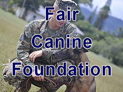 FairCanineFoundation.org - Reuniting Service Dogs with their Veteran Handlers